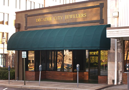 Decatur City Jewelers - interior view